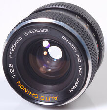 OBJECTIF M42 : CHINON 2,8/28mm M42 !! MADE IN JAPAN