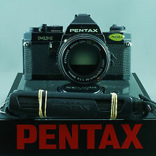 Pentax MX EXCELLENT BLACK Pentax M 50mm 1.4 **SERVICED by ERIC** z56