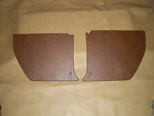 Holden HJ-HX-HZ kick panels L & R. mid brown vinyl. NEW. Incl trim clips.
