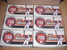 MCFARLANE MLB CASE LOT**BARRY BONDS**700 HOME RUN COMMEMORATIVE BOXED SET^^ 6 CT