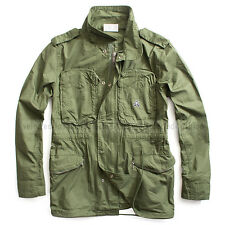 G-STAR RAW BY MARC NEWSON OVERSHIRT JACKET ARMY BRONZE GREEN  SIZE L RRP $390
