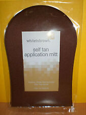 White To Brown Whitetobrown Fake Tan Mit No Bake Self Tanning Application Mitt