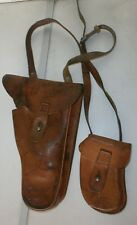 CZECH ARMY VZ61 SCORPION LEATHER SHOULDER HOLSTER W/ MAG POUCH