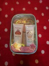 Official Pusheen bath gift set chocolate vanilla bath mitt cat kitten girls new