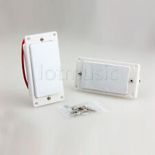 Double Coil Humbucker Pickups Set For Gibson Les Paul Electric Guitar White