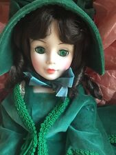 "21"" Madame Alexander Scarlet O'Hara Green Velvet Outfit in original box # 2240"