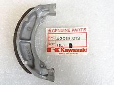 Kawasaki NOS NEW  42019-013 Brake Shoe  KX KDX KX125 KDX200 1982-85