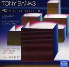 Six Pieces For Orchestra - Tony Banks (2012, CD NIEUW)