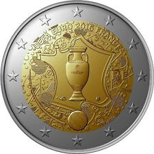 FRANCE  2 € euro  commemorative coin 2016 -  EURO 2016 Football Championship