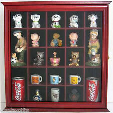 Small Figurines/Miniature Collectible Display Case Shadow Box,Glass Door:CD10-CH
