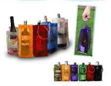 8 colors PVC Ice Bag Carrier Bottle Wine Cooler Chiller Travel Party Ice Bucket