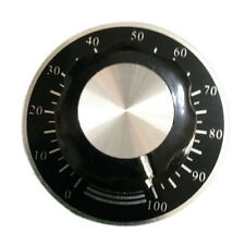 10pcs Rotary Potentiometer Knobs Caps with 10pcs Counting Dial 0 - 100 Scale