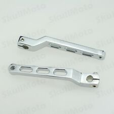Chrome Heel Toe Shifter Arms Set Levers For Harley Touring Softail Fatboy CVO