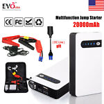 20000mAh Portable Car Jump Starter Power Bank Vehicle Battery Charger 12