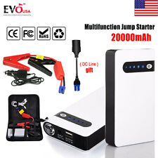 Mini-max 20000mAh Portable Car Jump Starter Power Bank Vehicle Battery Charger N