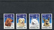 Tuvalu 1994 nuovo anno anno del cane 649-52 mnh