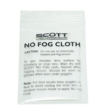 Scott No Fog Cloth Individual Defog Goggles Cleaner NEW Motorcycle ATV Glasses