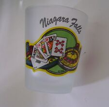 Niagara Falls ~ Cards Roulette Poker Chips Shot Glass