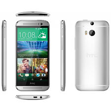 UNLOCKED HTC ONE M8 5.0'' TOUCHSCREEN 32GB 4G LTE ANDROID SMART PHONE (Silver)