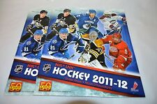 NHL LNH Hockey 2011-12 Album Booklet 2 Pack