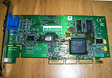 Diamond STL III S520 ATX AGP 8MB S3 SAVAGE4 PRO Video Vga Adapter Graphic Card