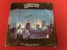 GENESIS SIGNED LIVE LP STEVE HACKETT VINYL PETER GABRIEL PHIL COLLINS PROOF