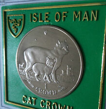 2012 Isle of Man The Manx Breed Cat Crown Coin (BU) Gift Set in Display Case