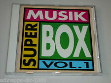 SUPER MUSIK BOX VOL.1 CD MIT KARAT PETER SCHILLING ADAMO BILL RAMSEY NICO HAAK