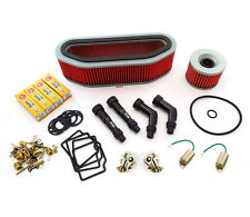 Deluxe Tune Up Kit - Plugs Caps Oil Air Filter Carb Kits - CB750K CB750 72-76