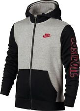 nike fleece hoodie kids red