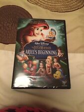 Brand New Disney DVD The Little Mermaid Ariels  Beginning Free Postage