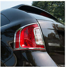 ABS Chrome Rear Tail Light Lamp Cover Trim For Ford Edge 2011 2012 2013