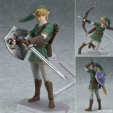 Good Smile Figma 320 The Legend of Zelda Figure Link Twilight Princess Ver. DX