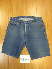 "Levi used 501 high waisted cut off shorts USATag 40"" Meas 36"" Inseam 11"" 9831R"