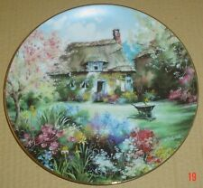 The Hamilton Collection Collectors Plate THE CHAPLAIN'S GARDEN