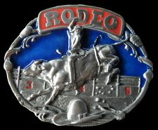 Rodeo Cowboy Cowgirl Southern Texas Bull Rider Belt Buckle Boucle de Ceinture