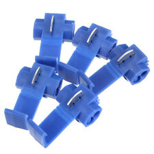 50X Blue Scotch Lock Wire Electrical Cable Connector Quick Splice Terminal Crimp
