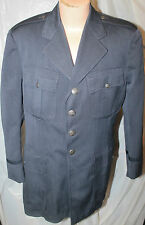 PRE-VIETNAM ERA US AIR FORCE MAN'S OFFICER'S TAILOR MADE SERVICE JACKET SATIN