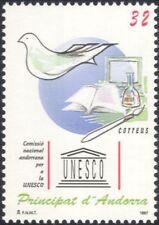 Andorra 1997 UNESCO/COLOMBA/Bird/BOOK/Letteratura/computer/arte/ANIMAZIONE 1v (n45549)