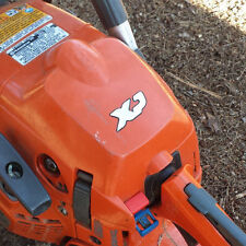 Husqvarna XP Decal sticker. Raised 3d Chainsaw emblem