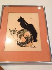 Theophile Steinlen Les Chats Modern Classic Series Print #217