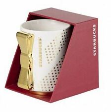 1,295 Starbucks Boxed Gold Ribbon Ceramic Mug 8oz.