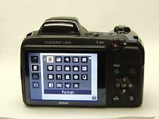 Nikon COOLPIX L810 16.1 MP Digital Camera - Black - Tested Working