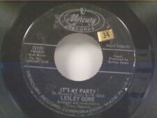 """LESLEY GORE """"IT'S MY PARTY / DANNY"""" 45"""