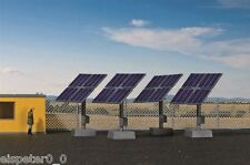 H0 Deko-Set Photovoltaikanlage, Modellwelten Bausatz 1:87, Kibri 38512