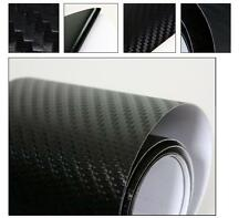 3D BLACK Carbon Fibre Textured Car Wrapping Vinyl Gadget: 50CMx 1.52M