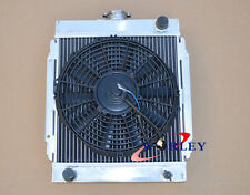 "For 3 ROW DATSUN 1200 B110 A12/T 1970-1976 71 Aluminum Radiator & 12"" FAN"