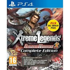 Dynasty Warriors 8 Xtreme Legends Complete Edition DLC Bonus Pack PS4 Game