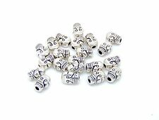 20 x 9mm Tibetan Silver Skull Beads Craft Beading Jewellery Craft K84