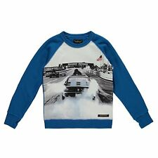 FINGER IN THE NOSE | HANK PEAK BLUE RACE | BOYS SWEATER | 2XL | AGE 10-11 |146CM